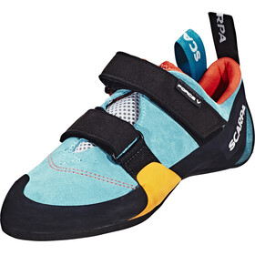 Scarpa Force V WMN Climbing Shoes Women icefall/madarin red